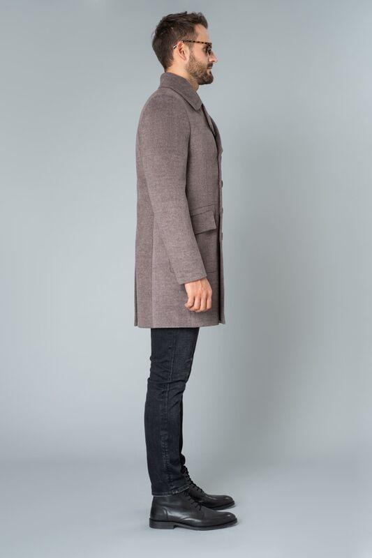 Верхняя одежда мужская Etelier Пальто мужское утепленное 6М-9093-1 - фото 3