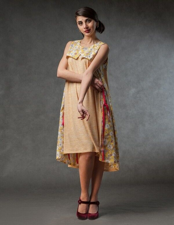 Платье женское MISUTERI Платье Tekina Yellow SS0141 - фото 1