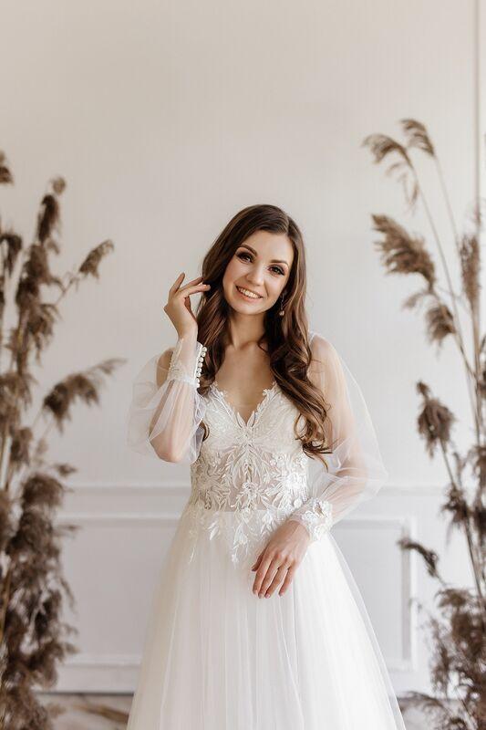 Свадебный салон ALIZA свадебное платье Nikka - фото 6