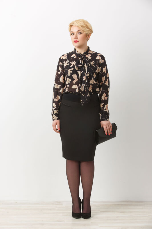 Кофта, блузка, футболка женская Elema Блузка женская Т-6989 - фото 1