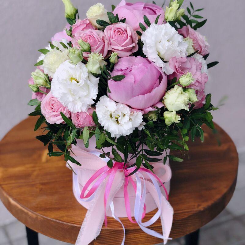 Магазин цветов Кошык кветак Коробочка классическая №13 - фото 1