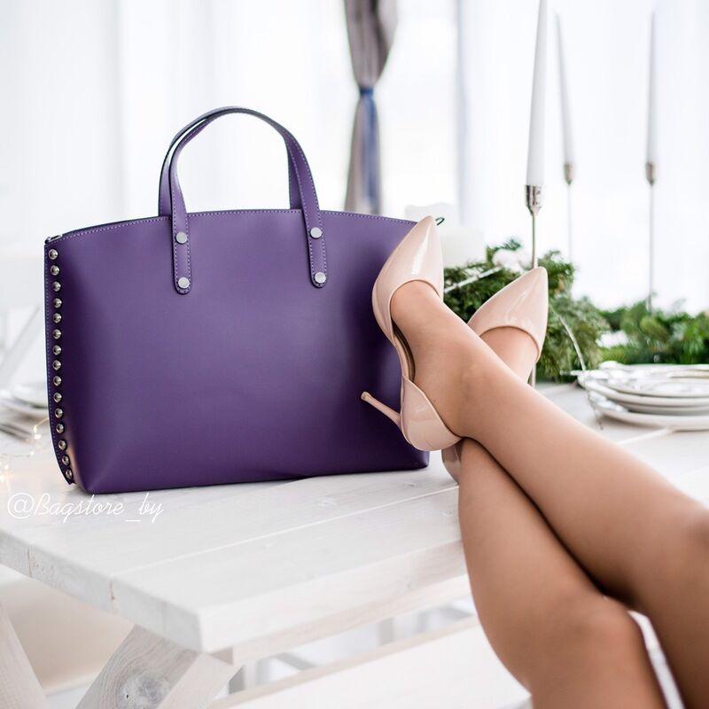 Магазин сумок Vezze Кожаная женская сумка C00427 - фото 1