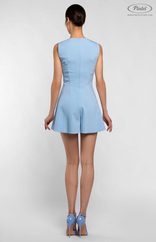 Верхняя одежда женская Pintel™ Комплект из пальто и комбинезона с укороченными шортами Parsis - фото 7