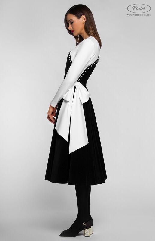 Платье женское Pintel™ Комбинированное платье  Abigale - фото 2