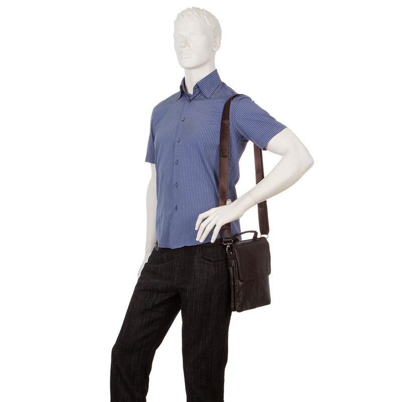 Магазин сумок Poshete Сумка мужская 186-6830А - фото 3