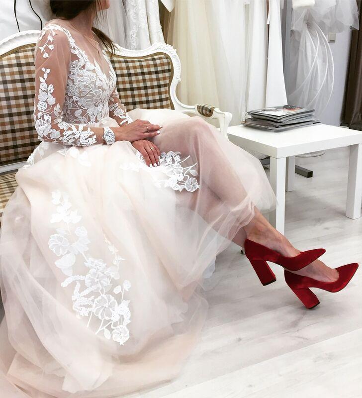 Свадебное платье напрокат Vanilla room Платье свадебное Марго - фото 2