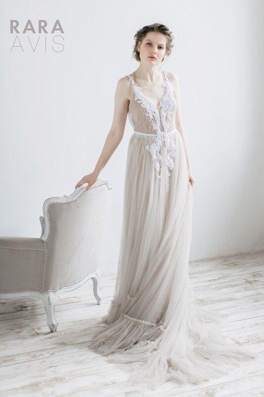 Свадебное платье напрокат Rara Avis Свадебное платье Agnez - фото 2