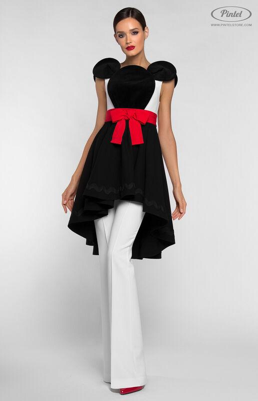 Костюм женский Pintel™ Костюм из платья и брюк DEEPSHIKA - фото 3