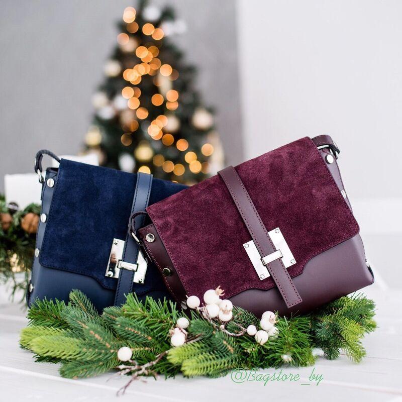 Магазин сумок Vezze Кожаная женская сумка C00423 - фото 1
