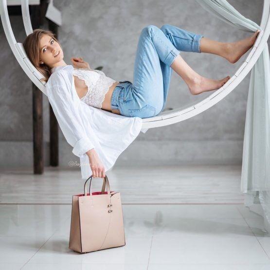 Магазин сумок Vezze Кожаная женская сумка C00463 - фото 1