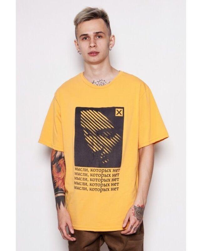 Кофта, рубашка, футболка мужская SoWhat Футболка «Мысли» SKU0092000 - фото 1