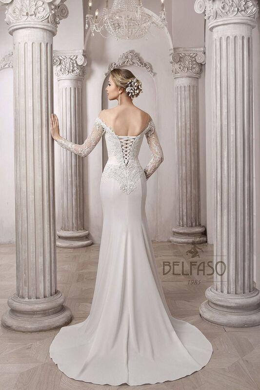 Свадебное платье напрокат Belfaso Платье свадебное Shantolie - фото 3