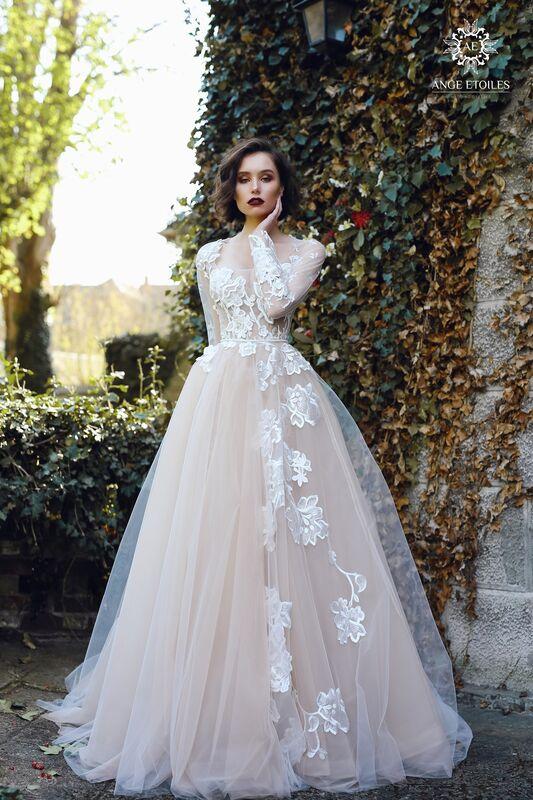 Свадебное платье напрокат Ange Etoiles Платье свадебное AEriality Collection Rosaly - фото 1