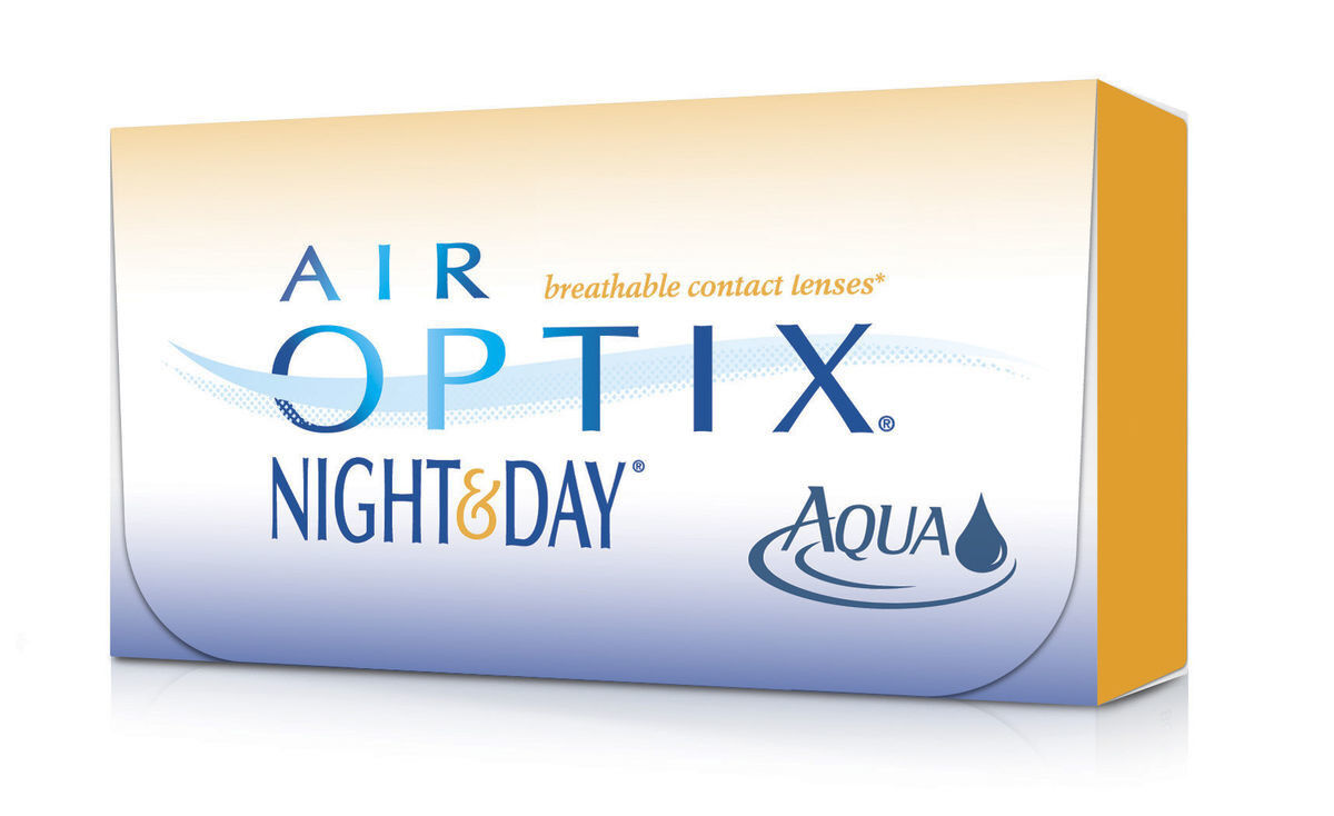 Линзы CIBA Vision Контактные линзы Air Optix Night&Day Aqua - фото 2