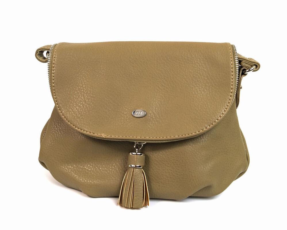 Магазин сумок David Jones Сумка женская коричневая 5540А-1 - фото 1