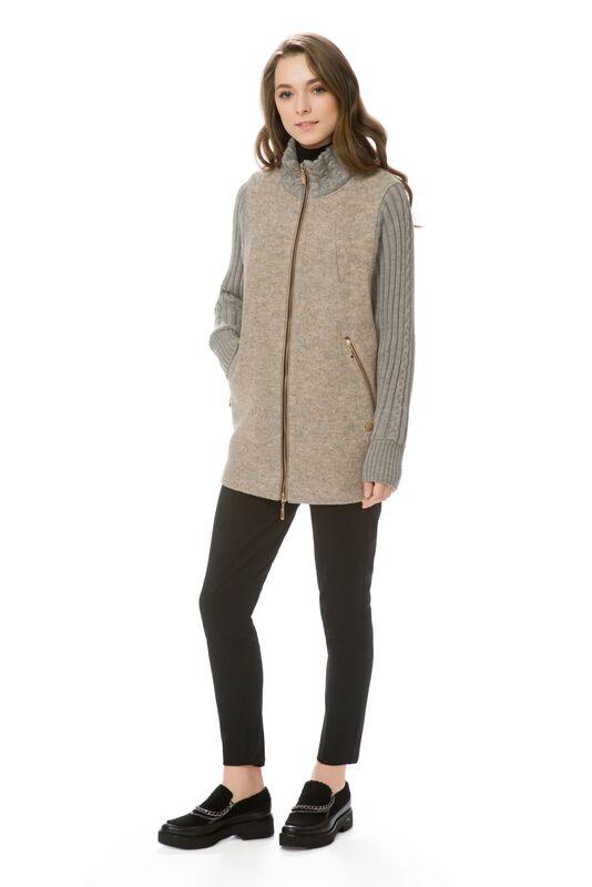 Верхняя одежда женская Elema Пальто женское демисезонное Т-6663 - фото 1
