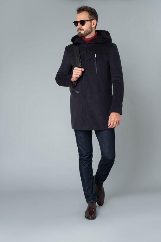 Верхняя одежда мужская Etelier Пальто мужское демисезонное 1М-8754-1 - фото 1