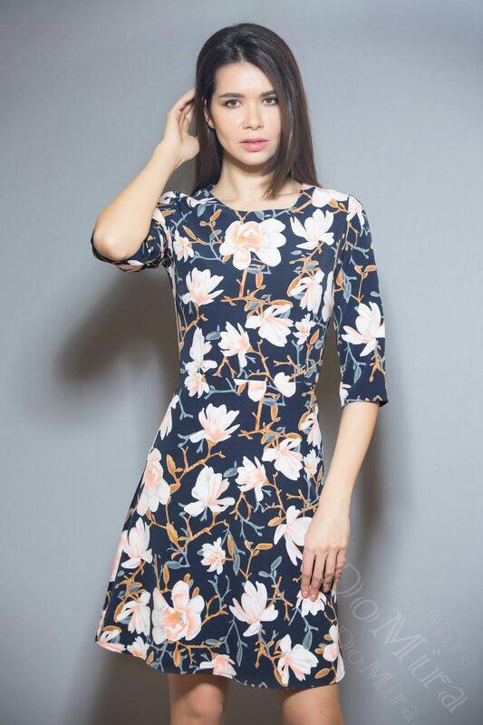 Платье женское DoMira Платье М-01-359К - фото 1
