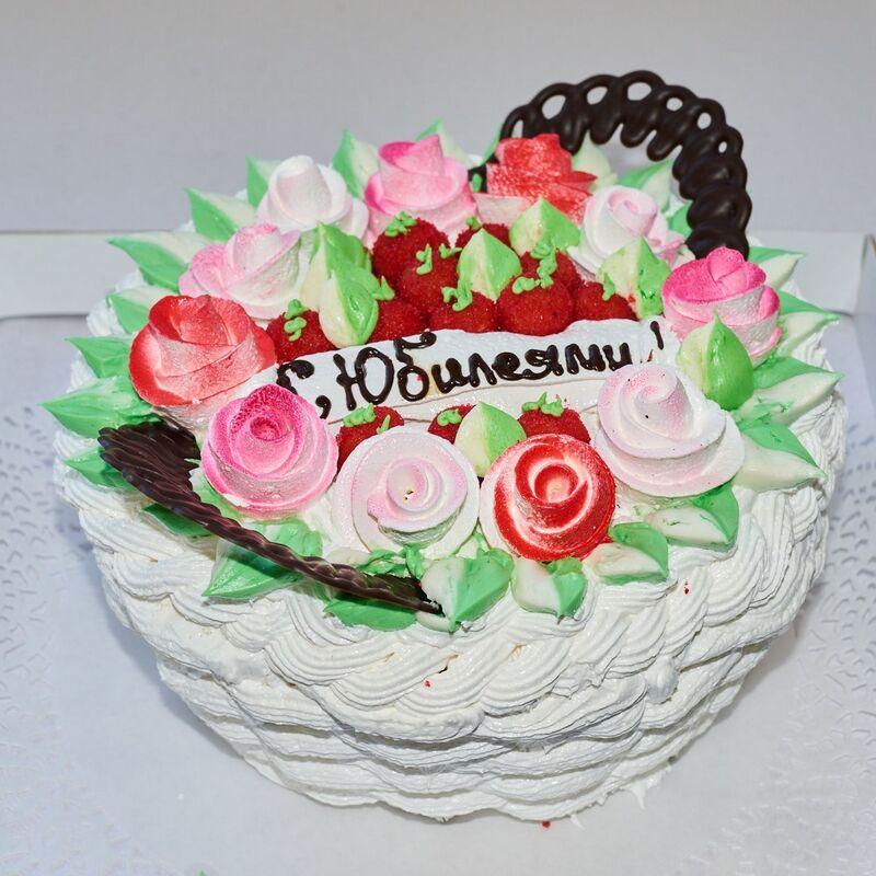 Торт Tortiki.by Юбилейный торт №2 - фото 1