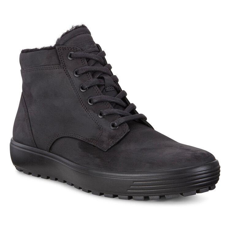 Обувь мужская ECCO Кеды высокие SOFT 7 TRED 450194/02001 - фото 1