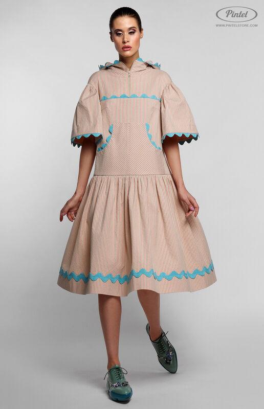 Платье женское Pintel™ Спортивное миди-платье свободного силуэта Yamichi - фото 2