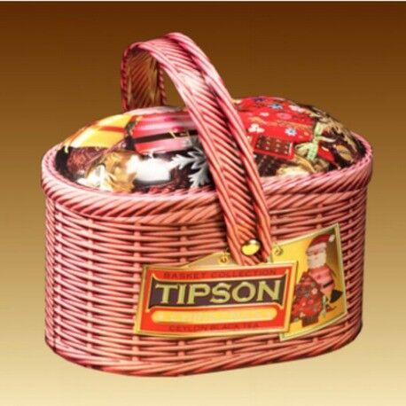 Подарок на Новый год Tipson Чай «Рождество» в лукошке, 100 гр - фото 1
