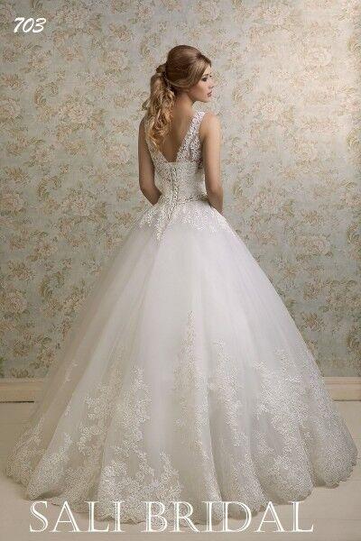 Свадебный салон Sali Bridal Свадебное платье 703 - фото 2