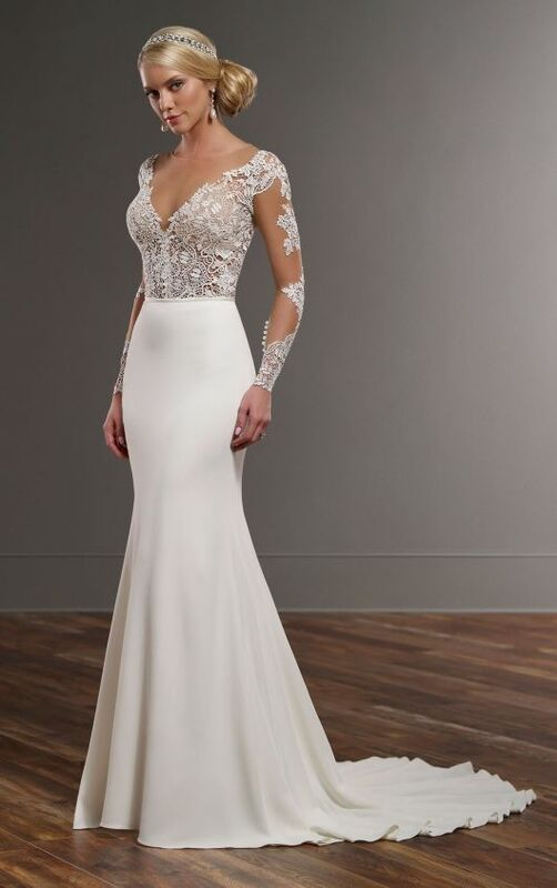 Свадебное платье напрокат Essense of Australia Платье свадебное Blake Sanja - фото 2