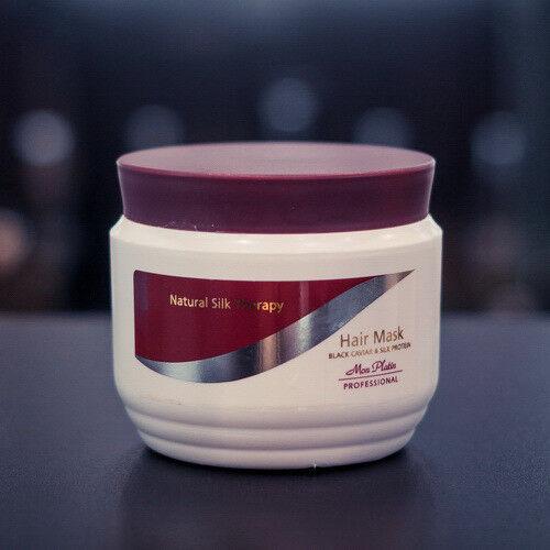 Уход за волосами Mon Platin Маска для волос на основе экстракта черной икры и протеинов шелка, 500 мл - фото 1