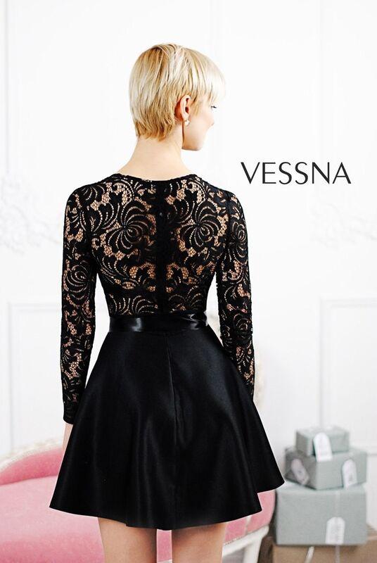 Вечернее платье Vessna Коктейльное платье арт.1211 из коллекции VESSNA Party - фото 2
