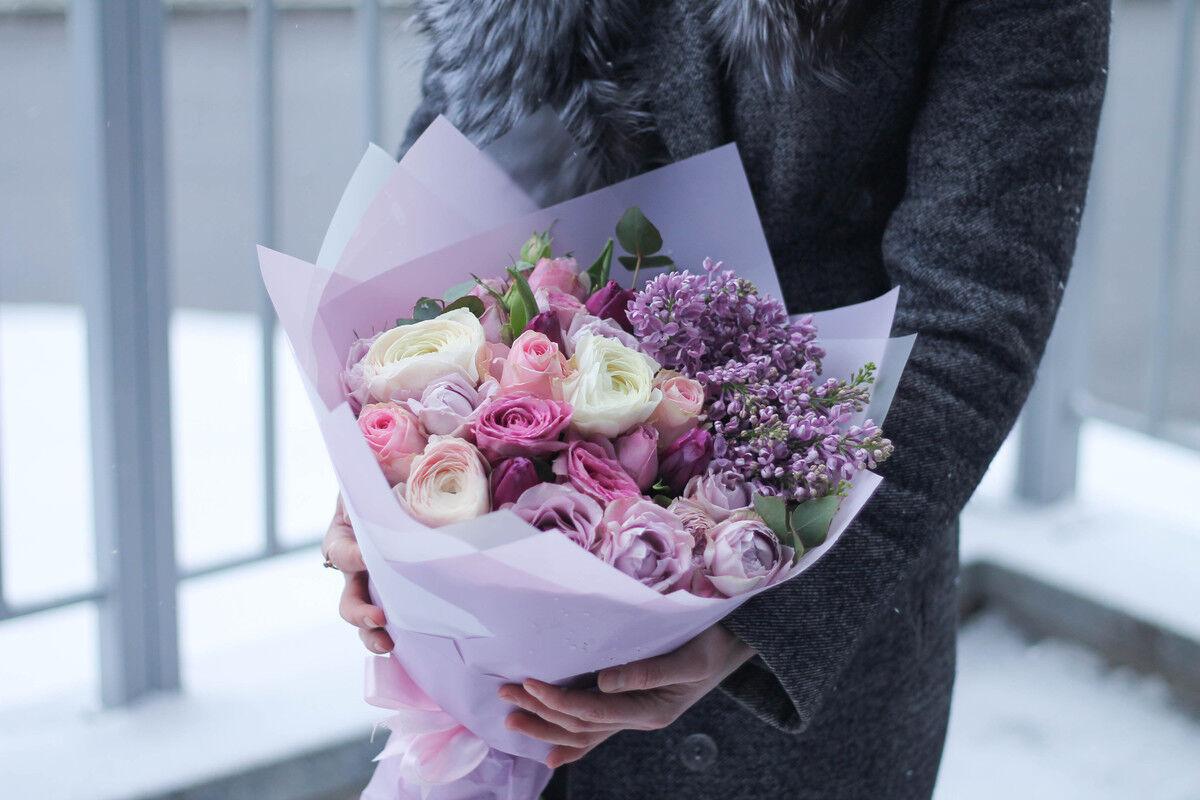Магазин цветов Cvetok.by Букет «Бархатный закат» - фото 2