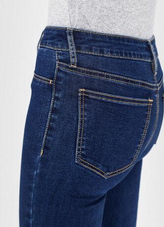 Брюки женские O'STIN Базовые суперузкие джинсы с высокой посадкой LPD109-D3 - фото 4