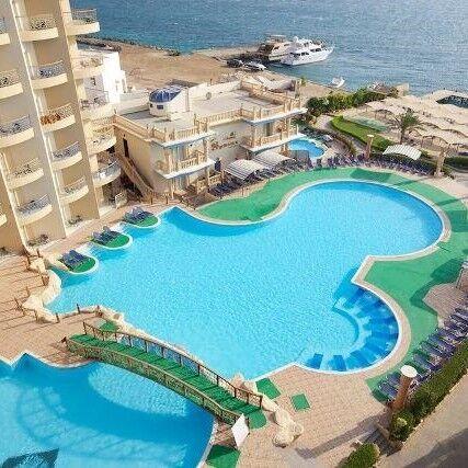 Туристическое агентство Клеопатра-тур Пляжный авиатур в Египет, Хургада, King Tut Aqua Park Beach Resort 4* - фото 1