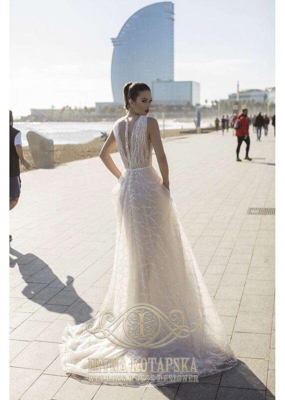 Свадебное платье напрокат Lavender Свадебное платье Dominika - фото 3