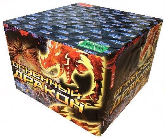 Фейерверк ТК сервис Батарея салютов ТКВ 215 «Огненный дракон» FP-B309 - фото 1