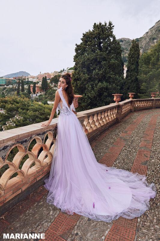 Свадебный салон Bonjour Galerie Платье свадебное MARIANNE из коллекции BELLA SICILIA - фото 1
