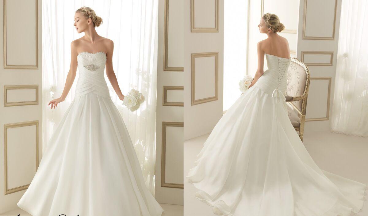 Свадебное платье напрокат Rosa Clara Платье свадебное Enora - фото 2