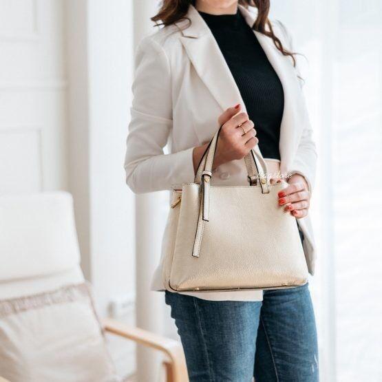Магазин сумок Vezze Кожаная женская сумка C00514 - фото 1