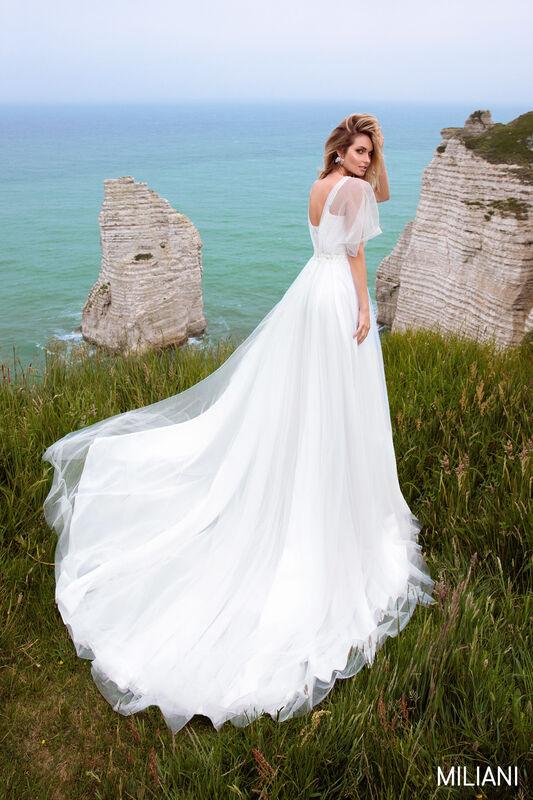 Свадебный салон Bonjour Galerie Платье свадебное MILIAN из коллекции BON VOYAGE - фото 2