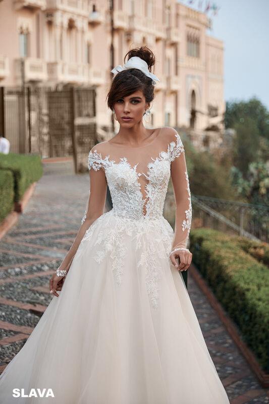 Свадебный салон Bonjour Galerie Свадебное платье SLAVA из коллекции BELLA SICILIA - фото 3