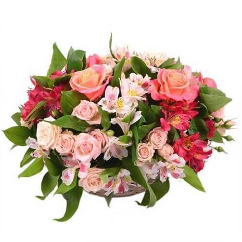 Магазин цветов Букетная Букет «Самой красивой» - фото 1