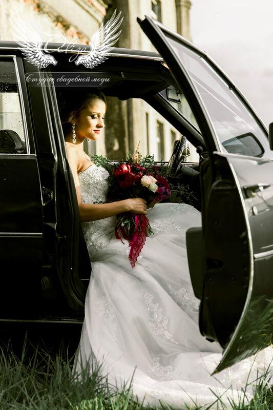 Свадебное платье напрокат ALIZA Свадебное платье «Mariel» Diva Vivien - фото 2