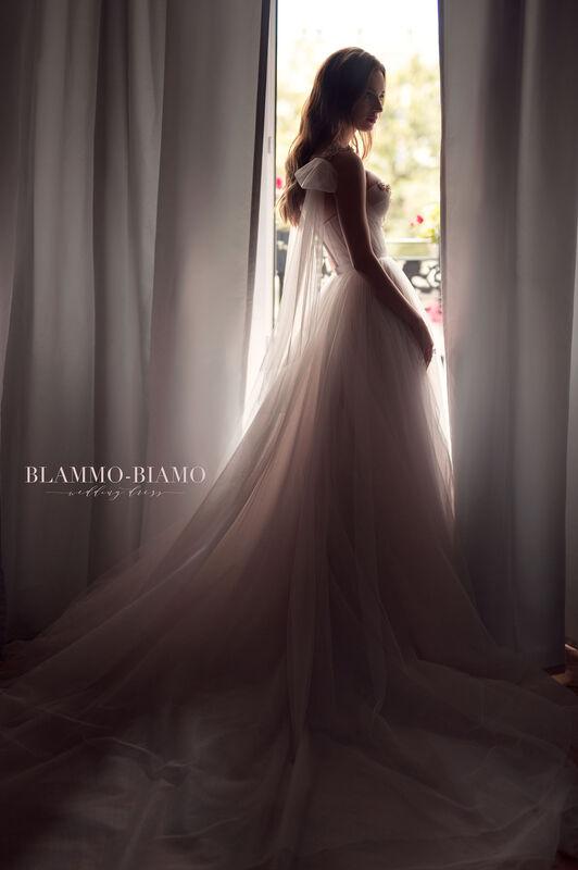 Свадебное платье напрокат Blammo-Biamo Платье свадебное The Rice Nora - фото 5