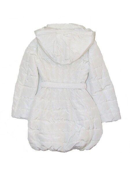 Верхняя одежда детская Monnalisa Пальто для девочки  194117 4017 0001 - фото 2