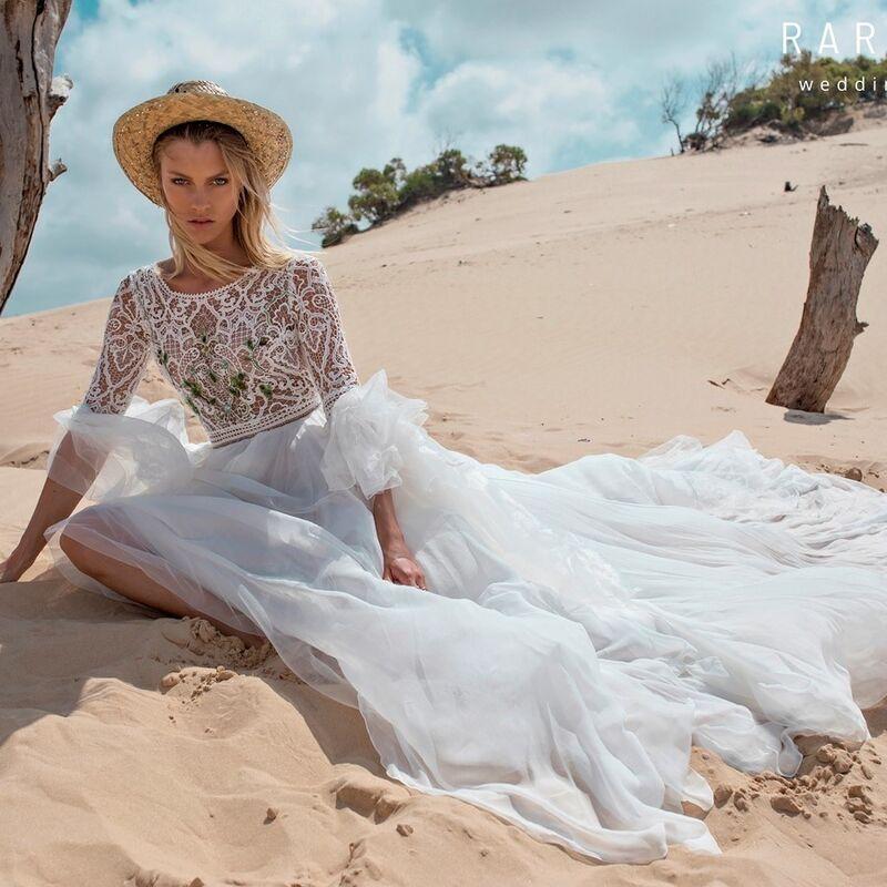 Свадебное платье напрокат Rara Avis Платье свадебное Wild Soul Rebeka - фото 1