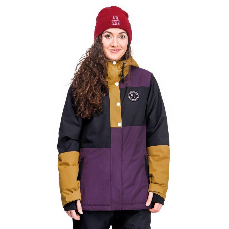 Спортивная одежда Horsefeathers Сноубордическая куртка Nela Jacket 1718  коричневый - фото 1 ... fc0227e5e12