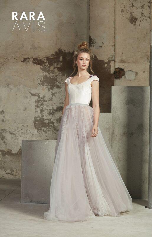 Свадебный салон Rara Avis Свадебное платье Floral Paradise  Molin - фото 1
