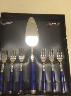 Подарок EME Набор столовых приборов для десерта P11T - фото 1