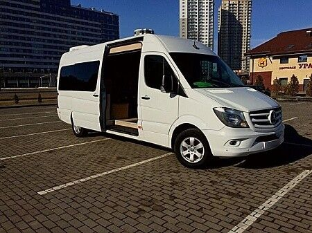 Прокат авто Mercedes-Benz Sprinter White VIP-8 - фото 2