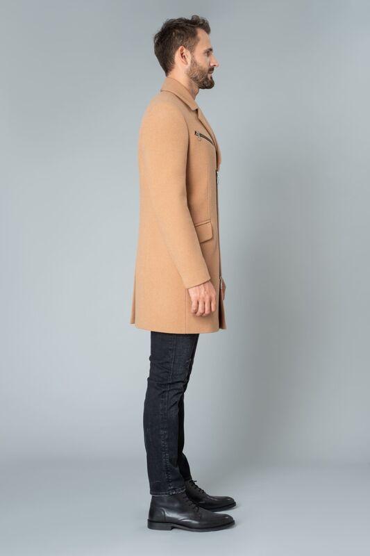 Верхняя одежда мужская Etelier Пальто мужское демисезонное 1М-9130-1 - фото 4